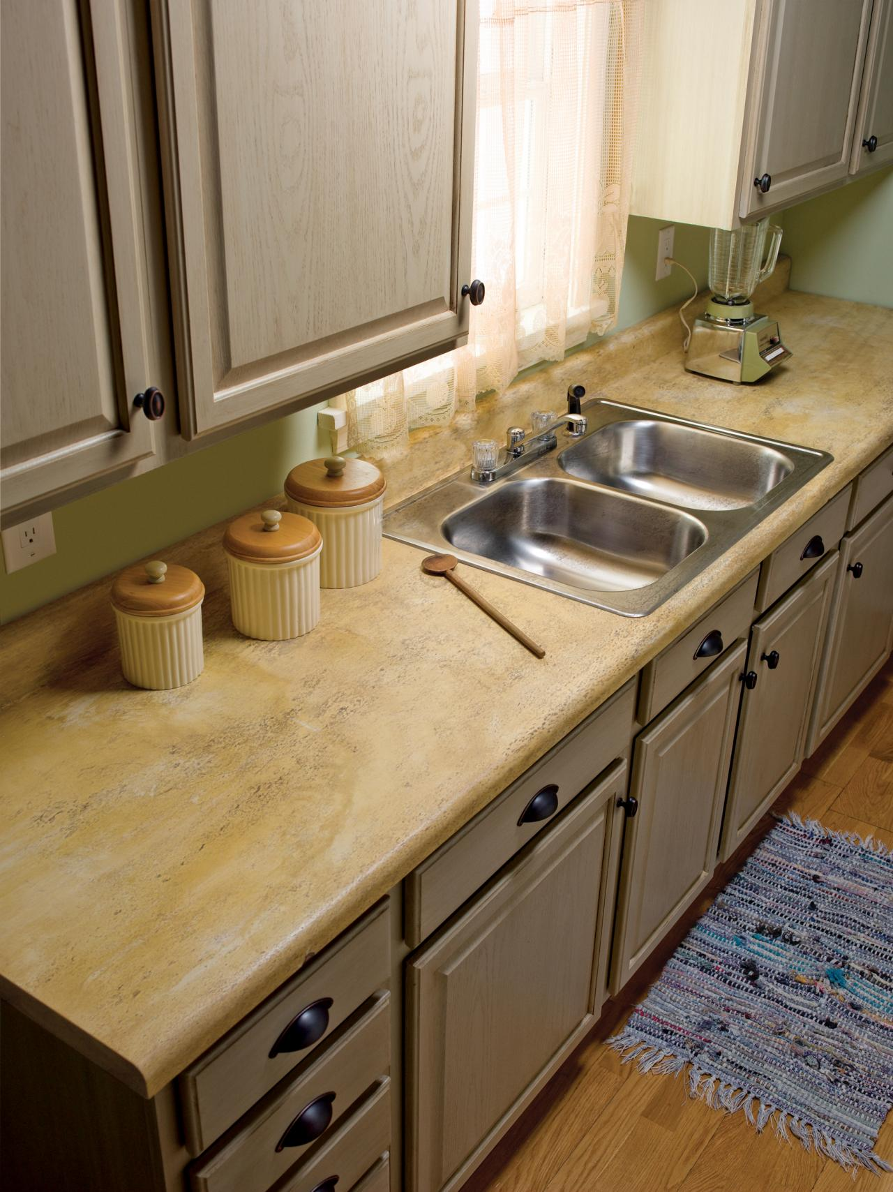 How to Repair and Refinish Laminate Countertops | DIY