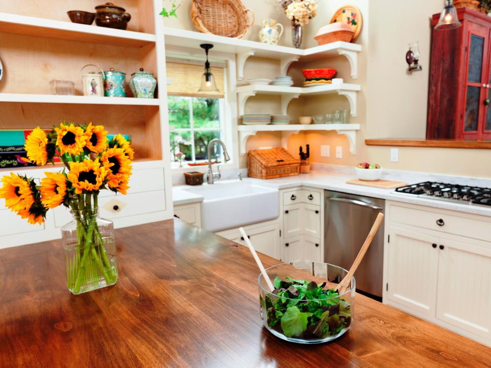 Kitchen Countertop Options Diy : 13 Best DIY Budget Kitchen Projects DIY