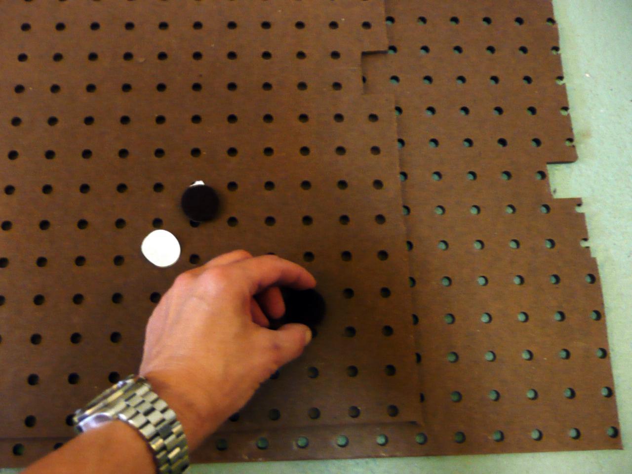 How To Install A Pegboard Backsplash How Tos Diy