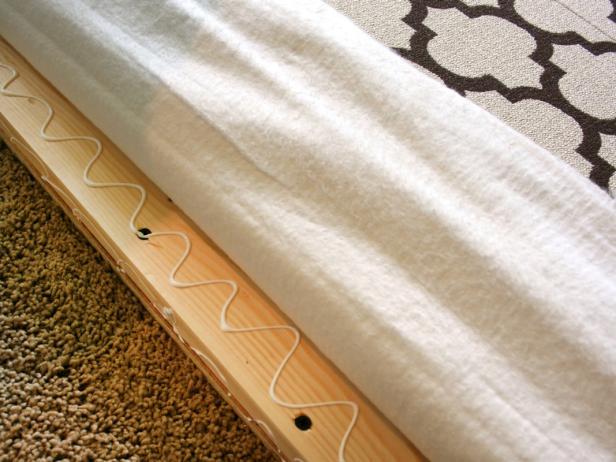 Glue Fabric to Frame