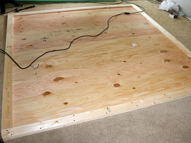 Construct Headboard Frame
