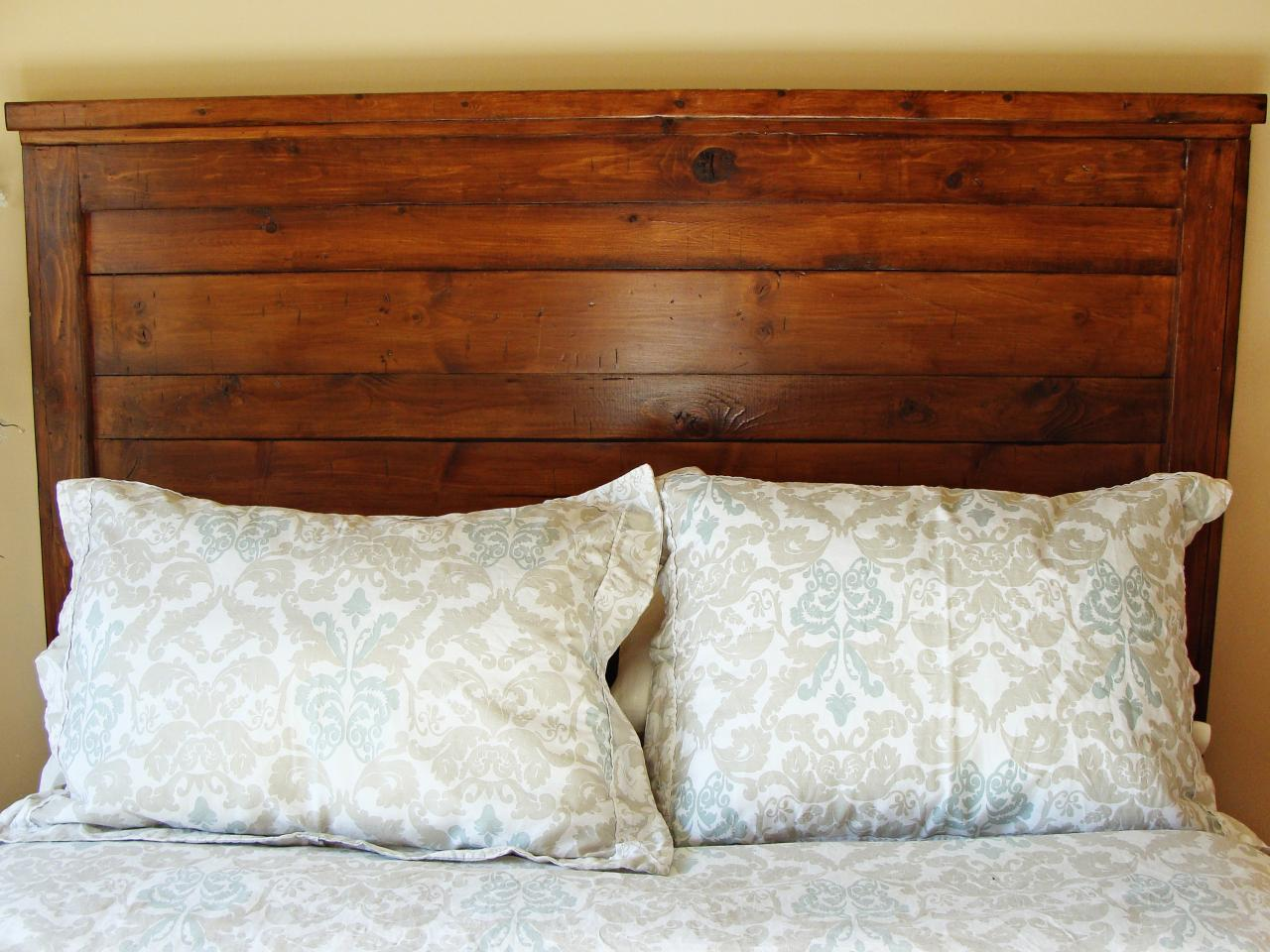 Design Wood Headboards how to build a rustic wood headboard tos diy step 11