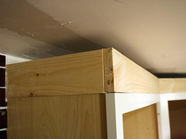 How To Install Cabinet Crown Molding How Tos Diy
