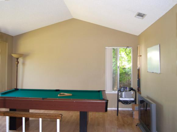 Before: Boring Game Room