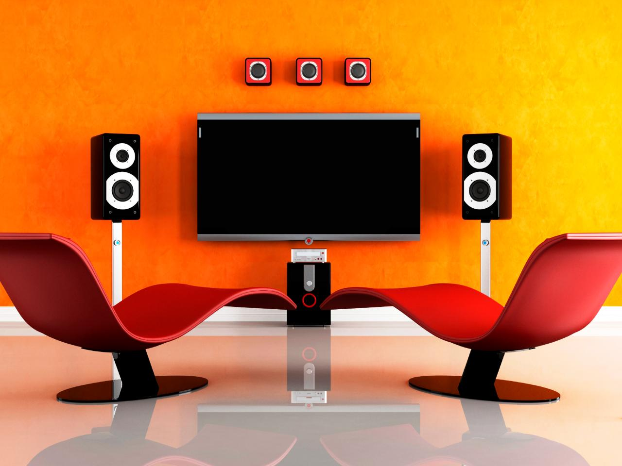 Home theater design basics diy Design your own tv room