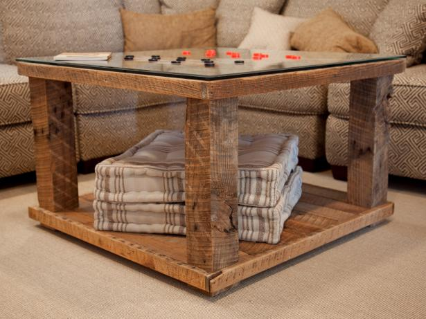 How to Build a Rustic Checkerboard Table