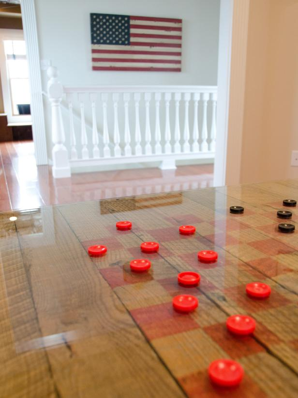 Game Room Flooring : Reclaimed game table photos diy