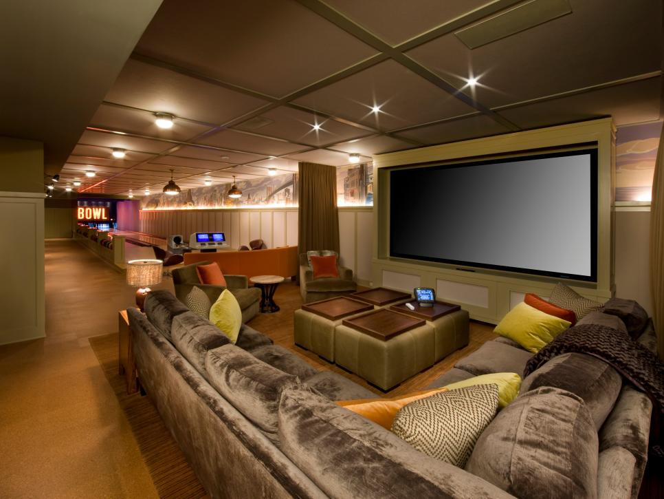 Home Theater & Media Room Design Ideas & How-Tos | DIY