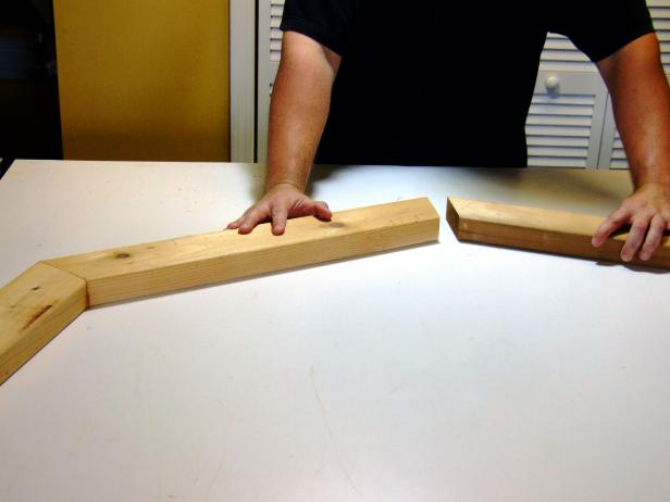 Once you have cut the seat slats, dry fit them on a level work surface to ensure they will rest securely.