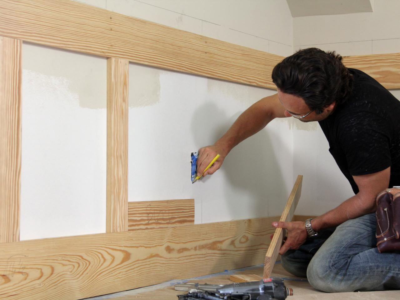How To Install Shaker Style Wainscot How Tos Diy