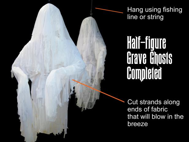 Hang Halloween Ghost Decoration