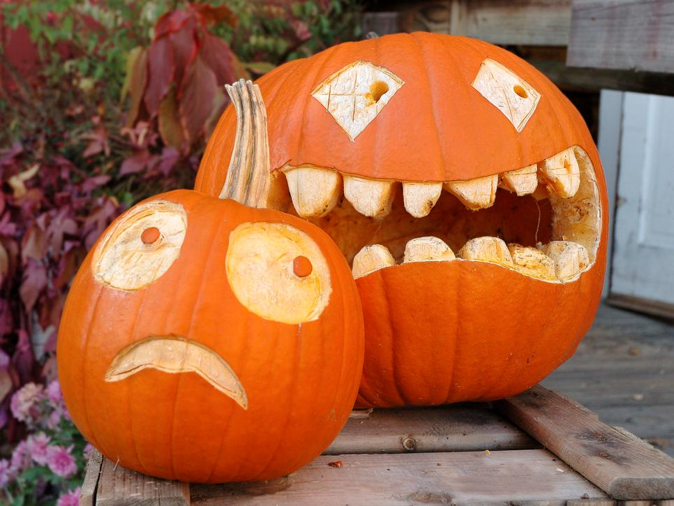 Traditional pumpkin carving ideas diy