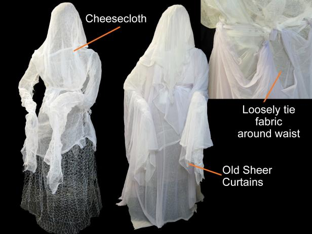 Cover Figure with Cheesecloth