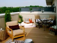 Tiny Rooftop Deck is Big on Style