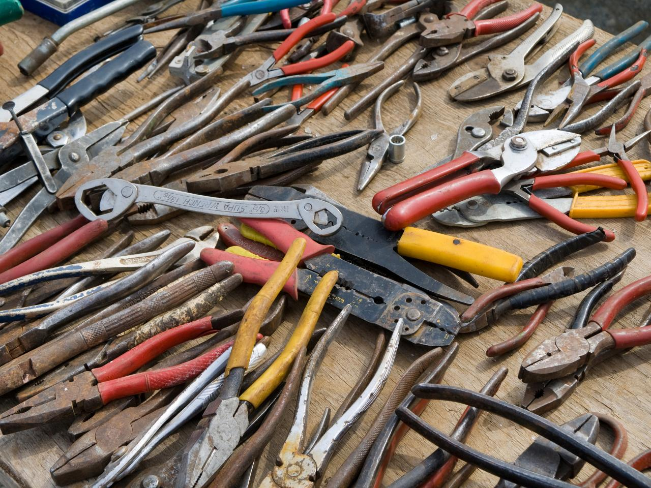 Buying guide for secondhand tools diy for Common garden hand tools