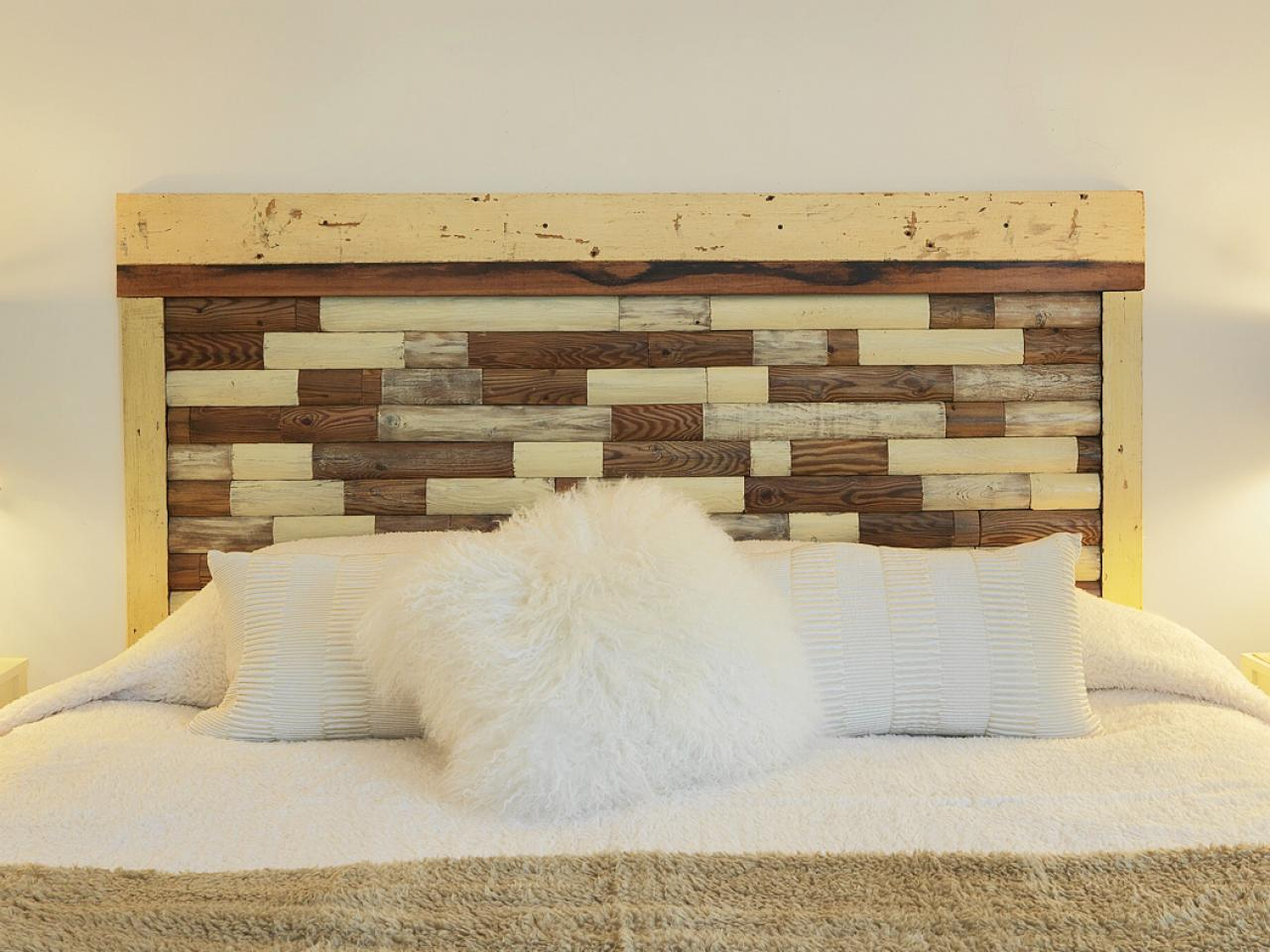 How to build a headboard from an old picket fence how for Headboard patterns