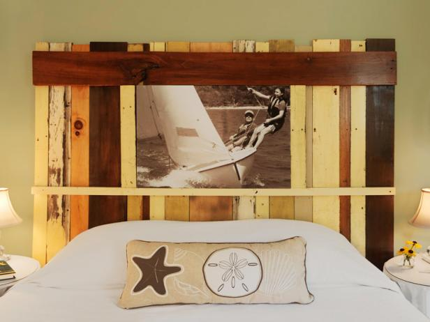 15 Easy DIY Headboards: Photo Frame