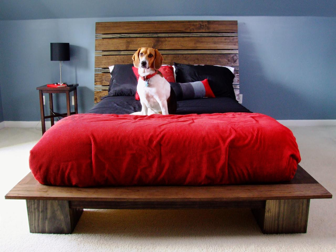 how to build a modern style platform bed how tos diy