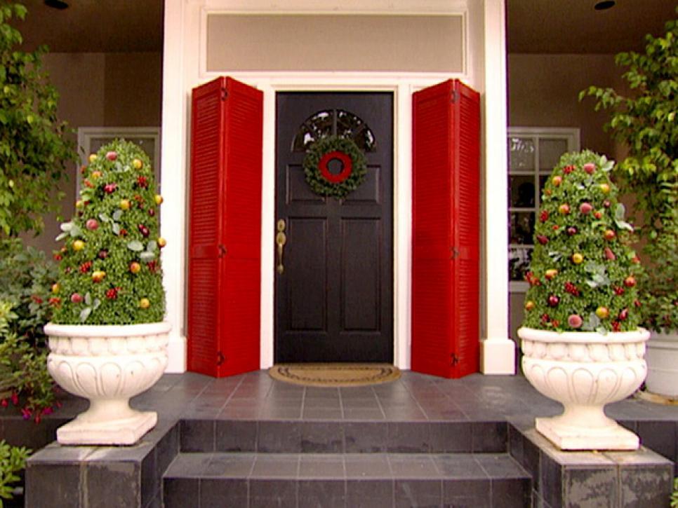 10 Christmas Door Decorations Diy
