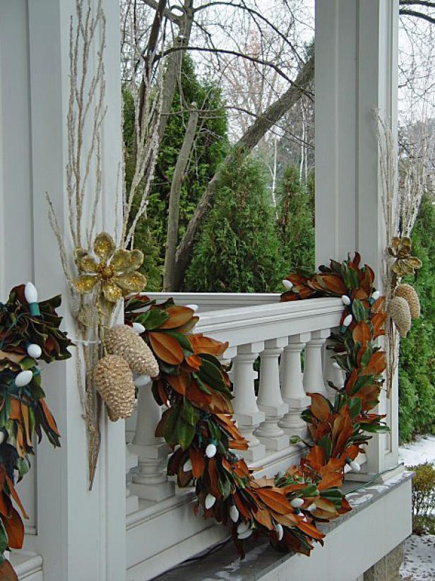Christmas Magnolia Garland