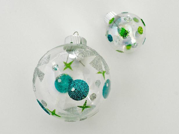 Glitter, Christmas Ornament