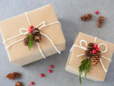 Christmas Gift Wrap Nature