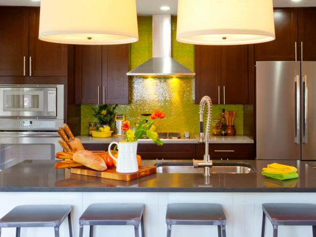 Diy Kitchen Design Ideas - Kitchen Cabinets, Islands, Backsplashes