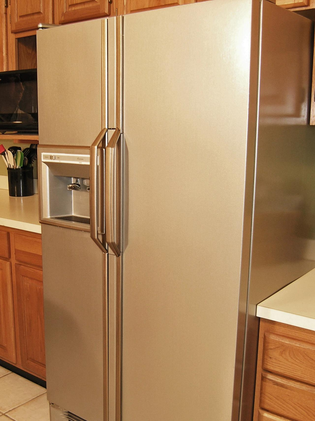 How to update your kitchen with stainless steel paint diy for Where to get a kitchen from