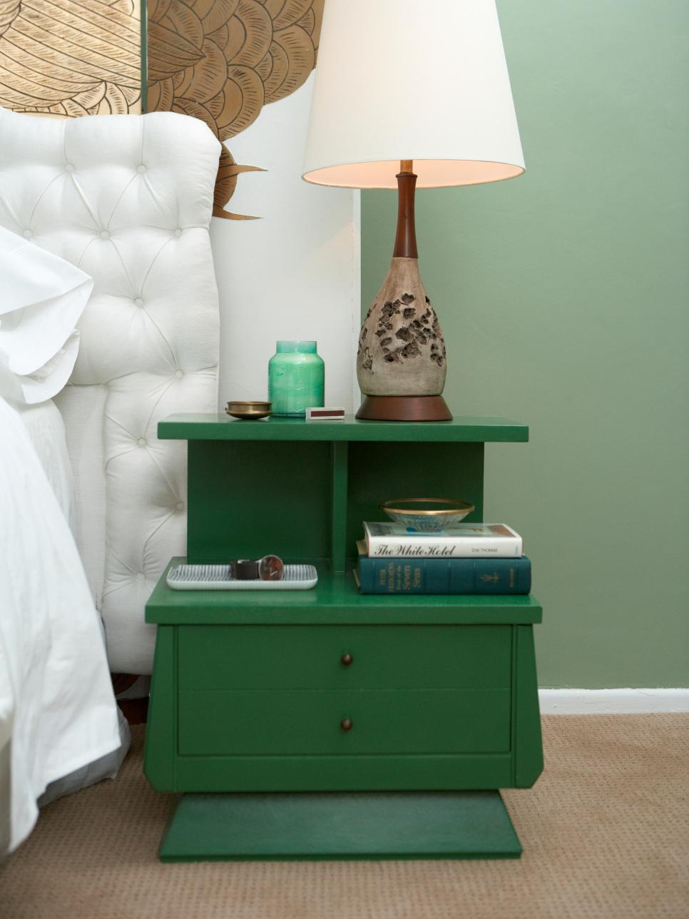 ideas for updating an old bedside tables diy - Bedroom Table Ideas