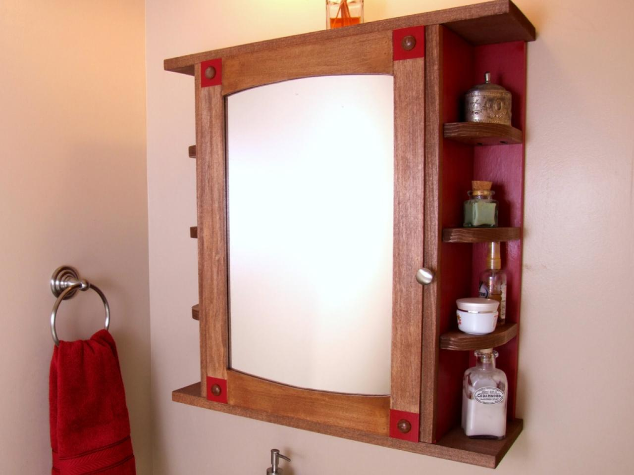 Wooden bathroom mirror cabinets - How To Build A Bathroom Medicine Cabinet