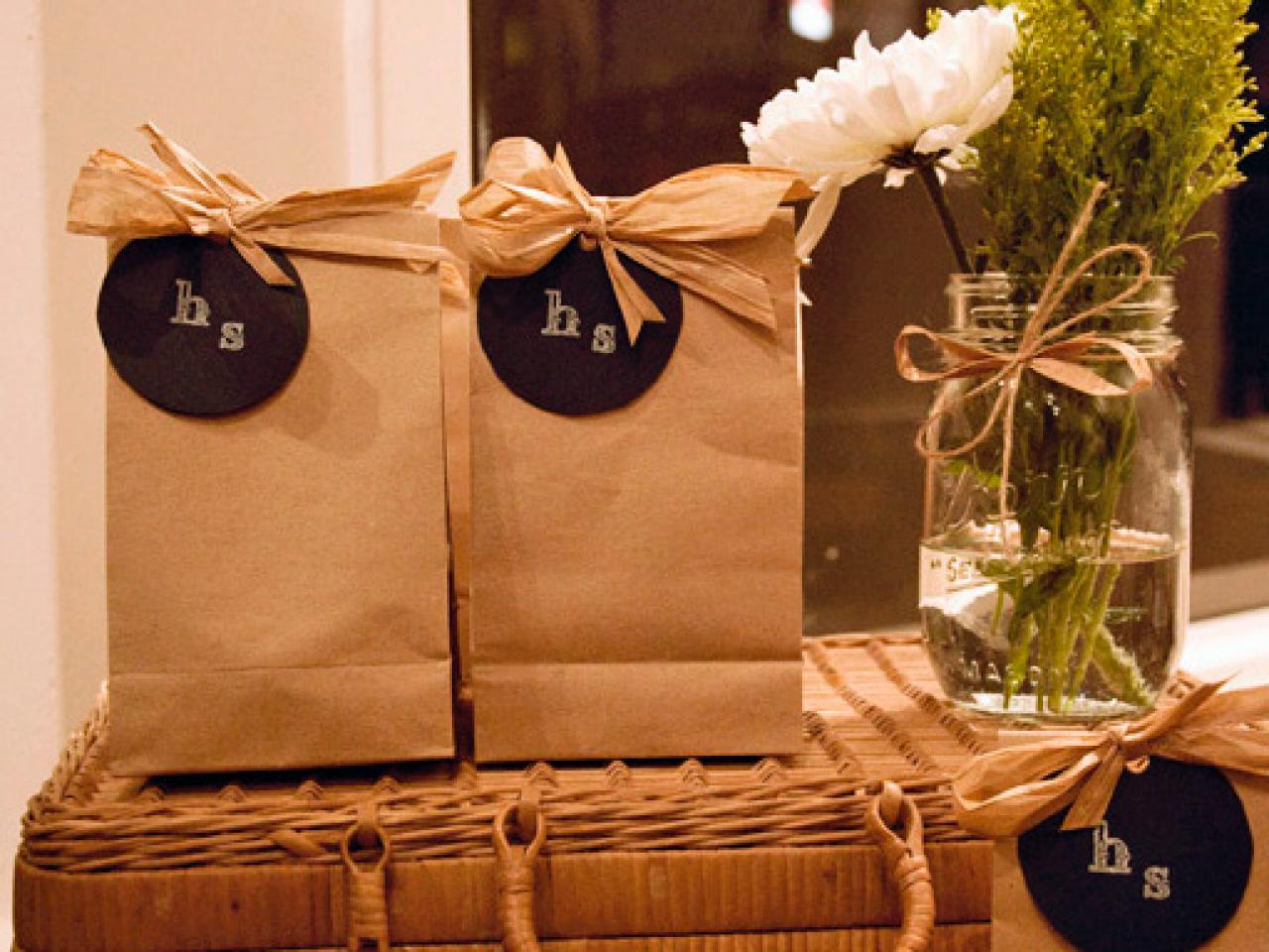 Gift Ideas Wedding Party: 9 Tips And Ideas For An Eco-Friendly Wedding