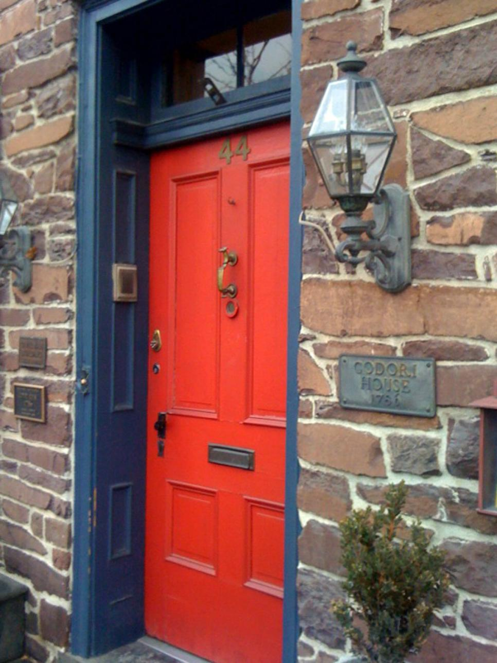 Front Door Colors Best Popular Colors To Paint An Entry Door  Diy Decorating Inspiration