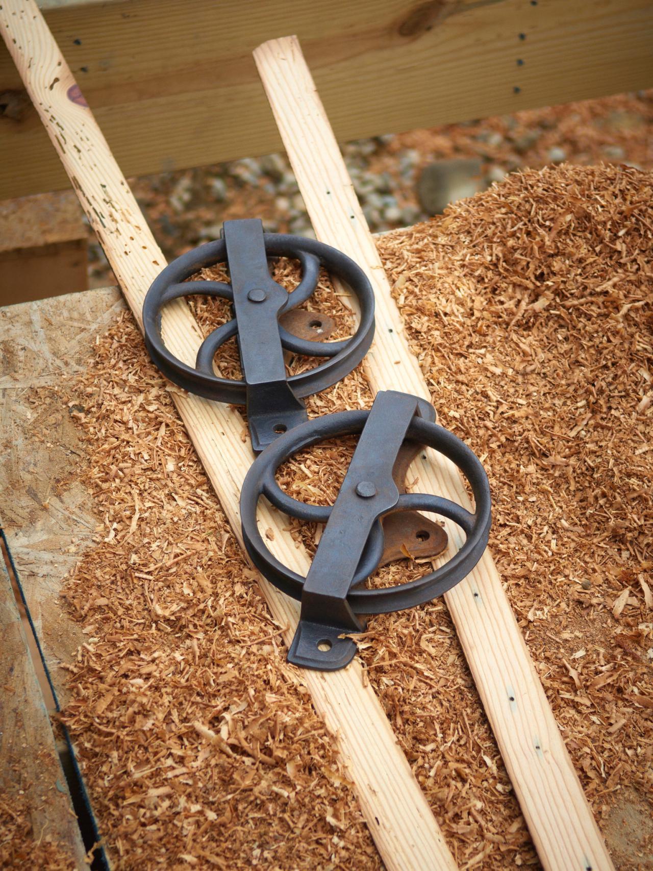 Diy sliding interior barn doors - Step 2