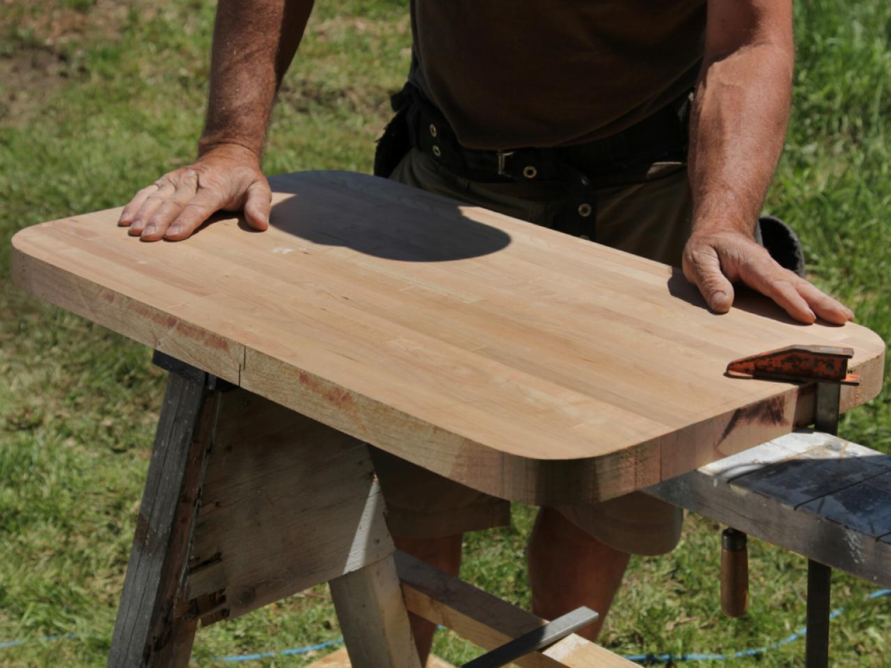 how to make a butcher block cutting board how tos diy