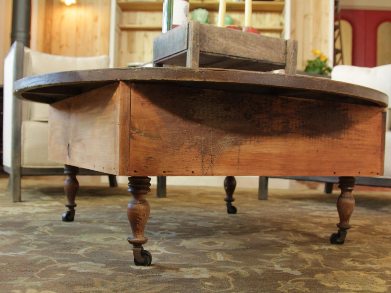 how to build a reclaimed wood coffee table | how-tos | diy