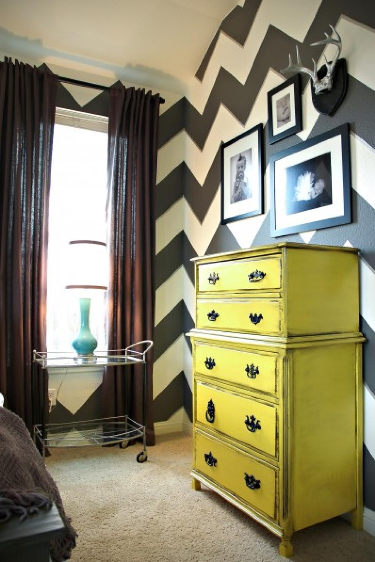 Easy Way To Make Chevrons. Lindsay From The Home Decor ...