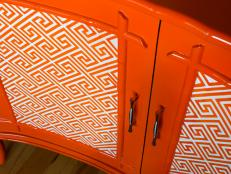 Original-Brian-Flynn_Orange-paint-and-pattern-dresser-door_s4x3