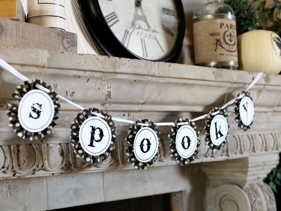 dripping candles - Homemade Halloween Party Decorations