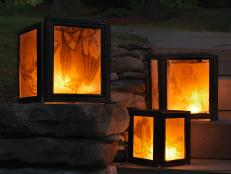 Picture-Frame Lanterns