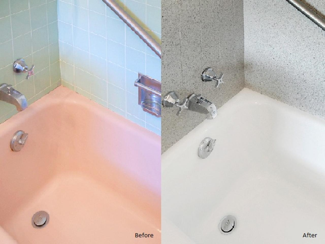 Tips From the Pros on Painting Bathtubs and Tile | DIY