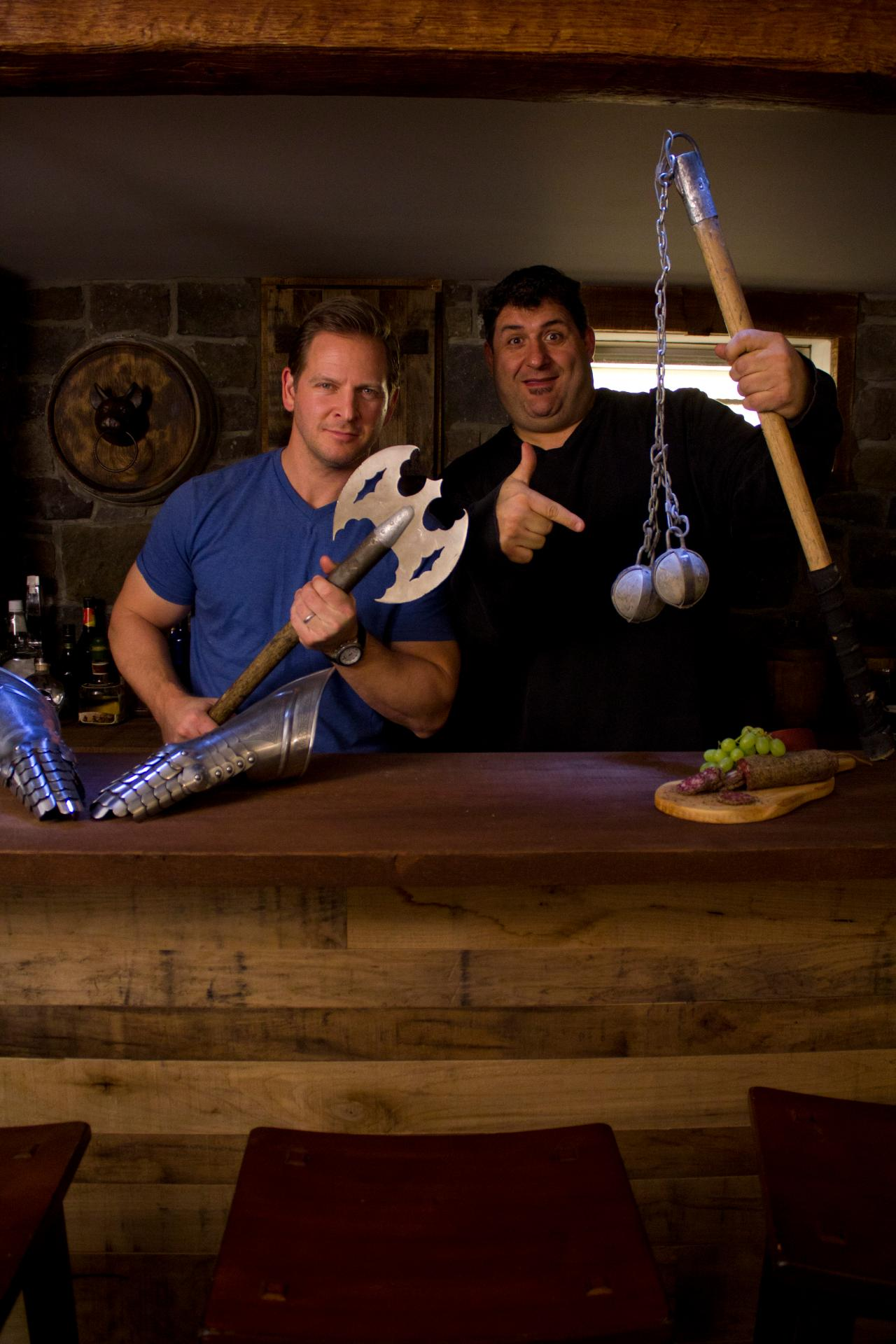 The Man Cave With Chris Paul : Silly images of diy network hosts behind the scenes