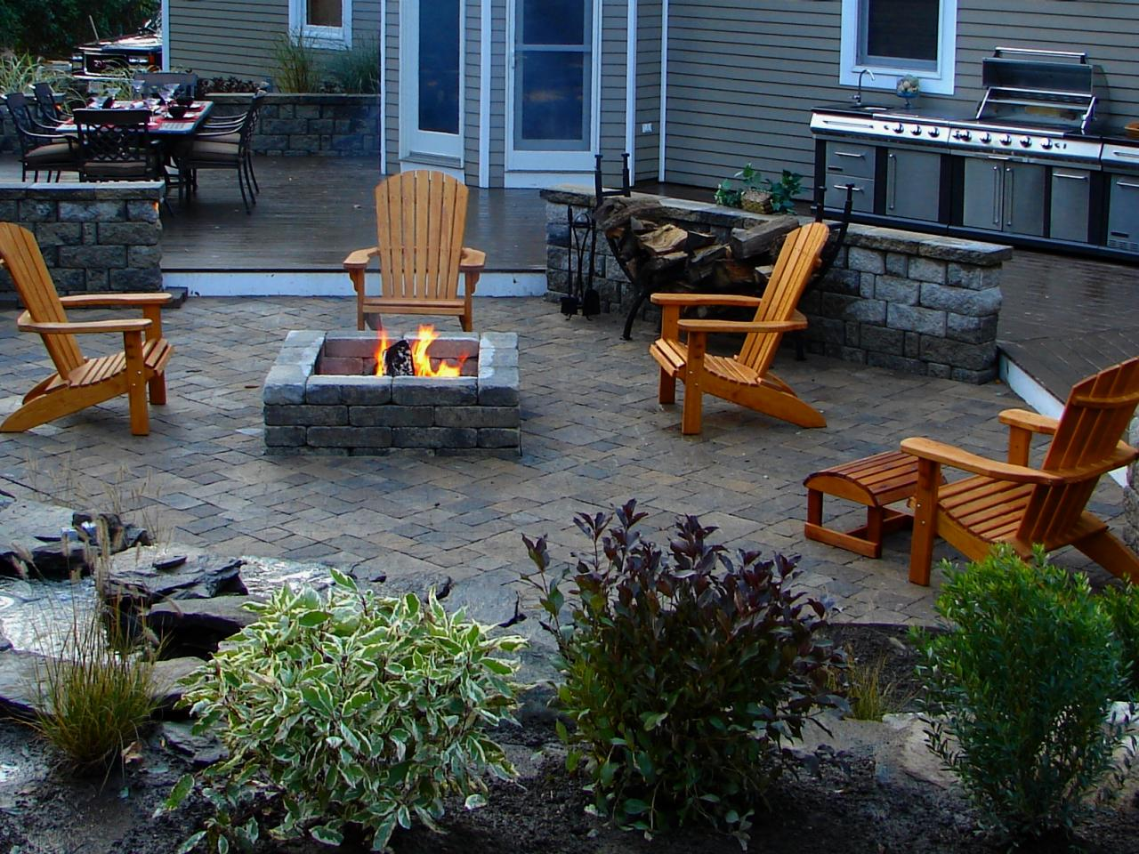 Fire Pit Design Ideas DIY Shed Pergola Fence Deck
