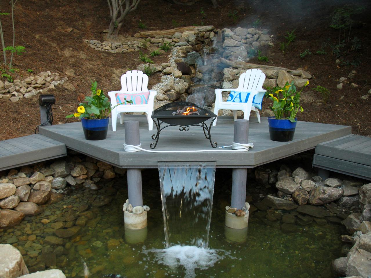 small but sexy - Outdoor Fireplace Design Ideas