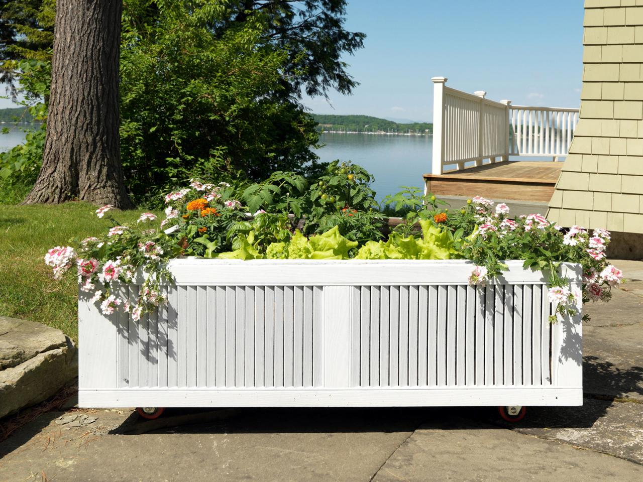 How to Build a Raised Garden Bed how tos DIY