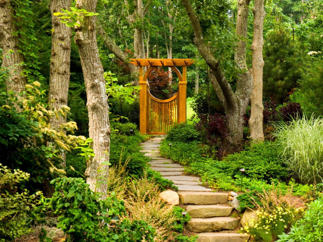 Asian Inspired Landscape Design DIY Garden Projects