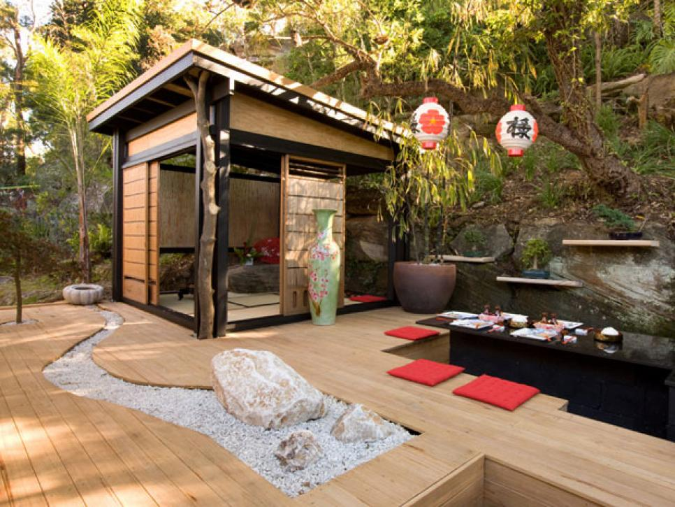 Asian inspired landscape design diy Outdoor home design ideas