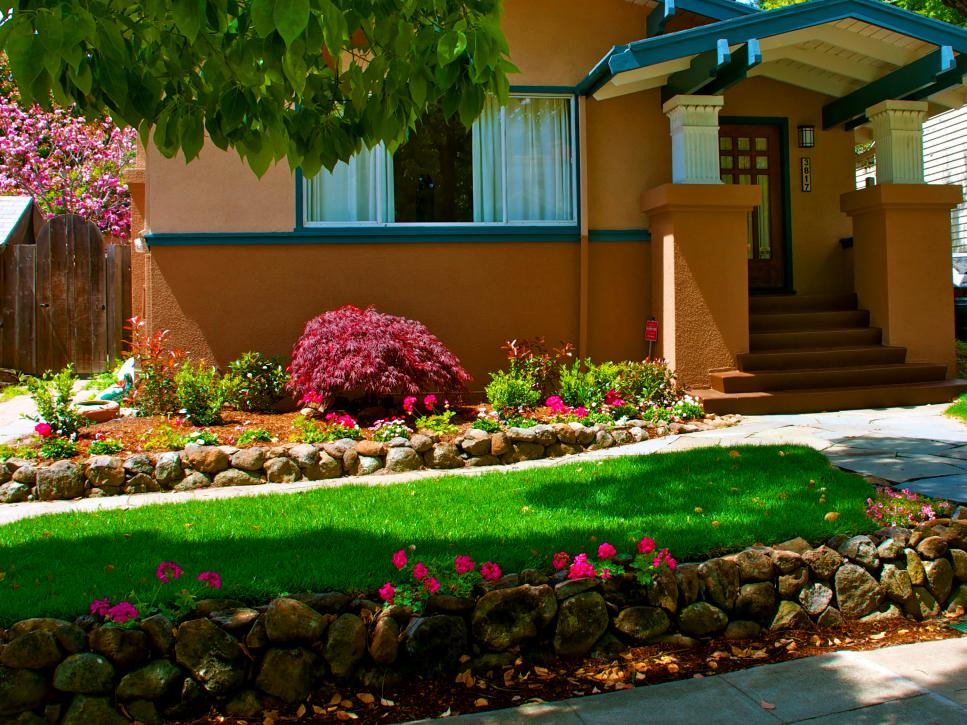 The essential steps to landscape design diy for Front lawn design