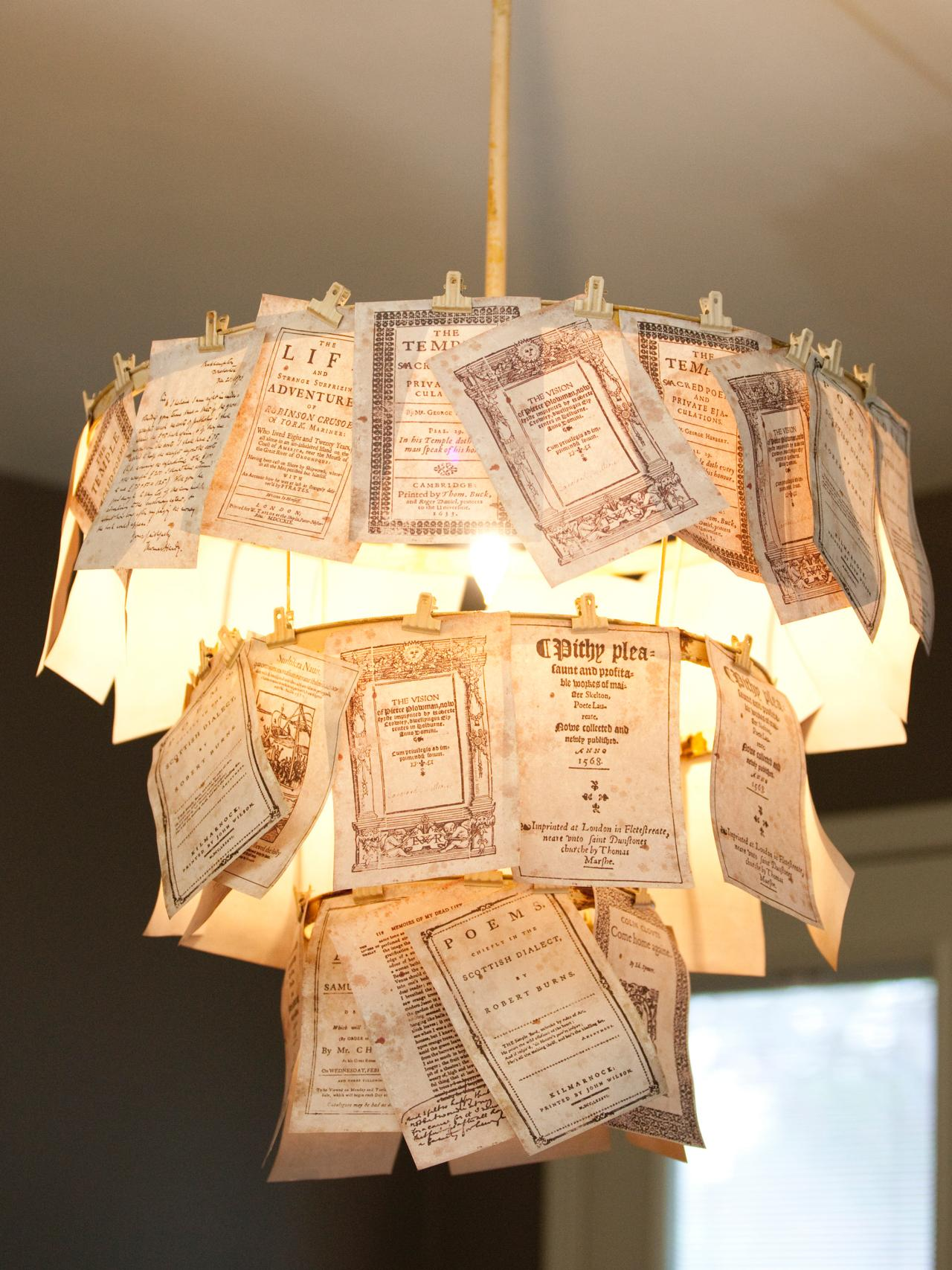 brighten up with these diy home lighting ideas hgtv s decorating bugle lamp