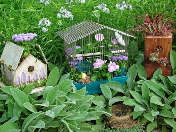 Diy outdoor projects landscaping hardscaping gardening patios decks diy - Unique container gardening ideas ...