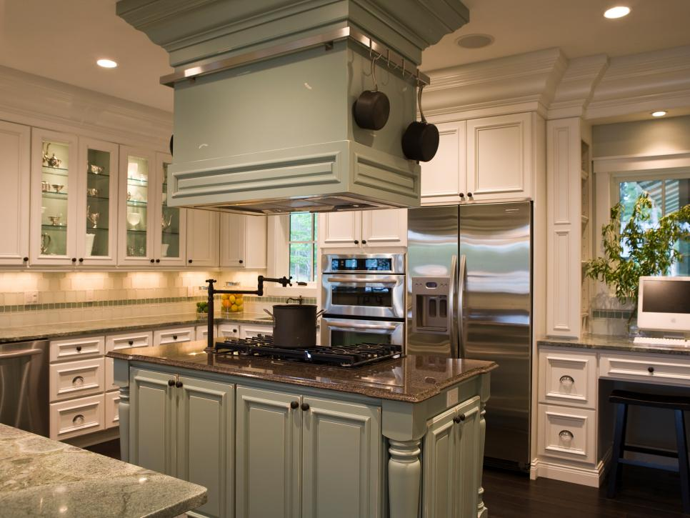 Green Painted Kitchen Cabinets kitchen color: green at its best | diy